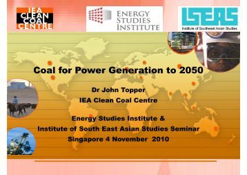 View Presentation - Energy Studies Institute