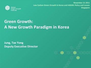 Green Growth - Energy Studies Institute