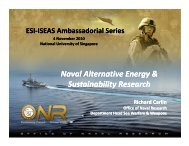 Naval Alternative Energy & Sustainability Research Naval ...