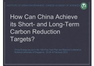 Target - Energy Studies Institute - National University of Singapore