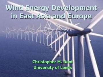 ENVIRONMENT AND EAST ASIA