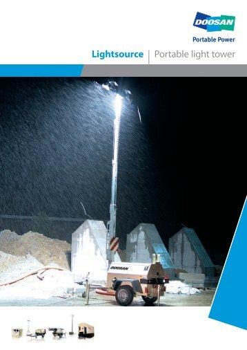 Lightsource | Portable light tower - Euromat