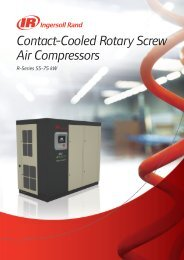 Contact-Cooled Rotary Screw Air Compressors - Euromat