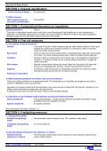 SAFETY DATA SHEET - Rawlins Paints - Page 2