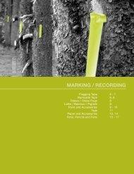 MARKING / RECORDING