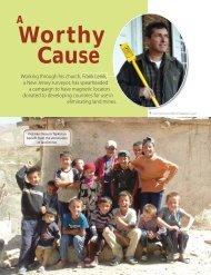 Worthy Cause - Schonstedt Instrument Company