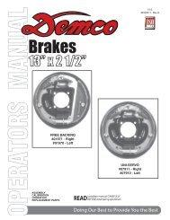"BC20011 - 13"" Hydraulic Brake Assemblies ... - Demco Products"