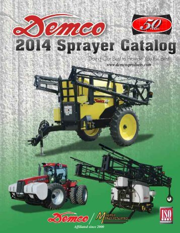 2014 Sprayer Catalog - Demco Products