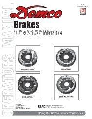 "BC20002 - 10"" Hydraulic Brake Assemblies ... - Demco Products"