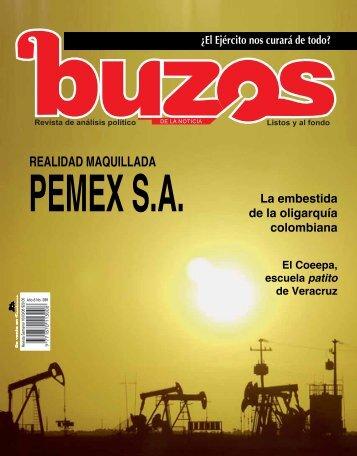Pemex SA - Buzos