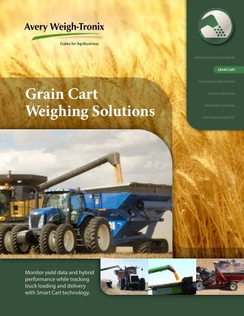 Grain Cart Weighing Solutions - Demco Products