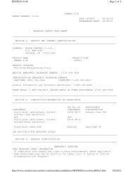 Page 1 of 8 PENNEX N 40 1/5/2011 http://www.setonresourcecenter ...
