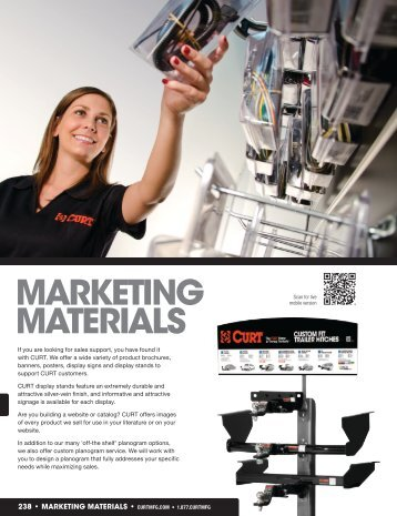 MARKETING MATERIALS - CURT Manufacturing