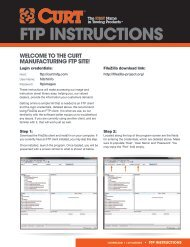 FTP INSTRUCTIONS - CURT Manufacturing