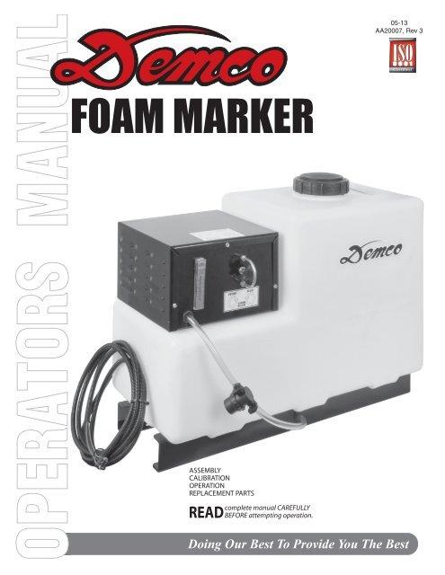 Aa20007 Foam Marker Demco Products