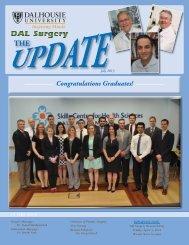Congratulations Graduates! - Dalhousie Medical School Surgery ...