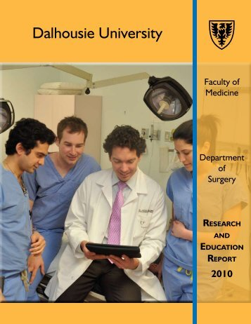 Dalhousie University - Dalhousie Medical School Surgery Research