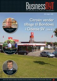 Citroën vender tilbage til Bondovej i Odense SV ... - businessnyt.dk