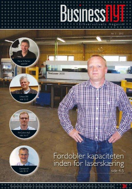 Fordobler kapaciteten inden for laserskæring - businessnyt.dk