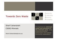 Towards Zero Waste - Australian Sustainable Development Institute