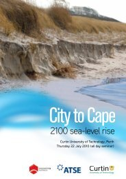 Flyer - Australian Sustainable Development Institute - Curtin University