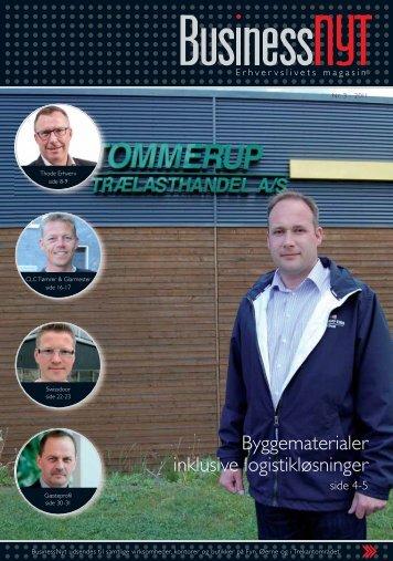 Byggematerialer inklusive logistikløsninger - businessnyt.dk