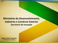 Ministry of Development, Industry and Foreign Trade Secretariat of ...