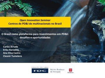 Apresentação do PowerPoint - Open Innovation Seminar