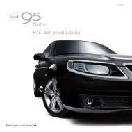 Saab Griffin Pris- och produktfakta - SaabsUnited