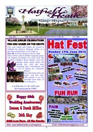 May2012 Edition - Hatfield Heath Village Magazine