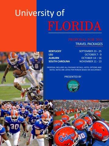 FLORIDA - Gator Boosters, Inc.