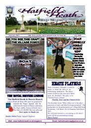 February2013 Edition - Hatfield Heath Village Magazine
