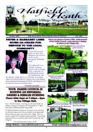 October2010 Edition - Hatfield Heath Village Magazine