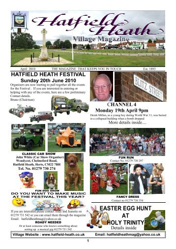 April2010 Edition - Hatfield Heath Village Magazine