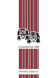 HOOAEG 2009/2010 - Vanemuine