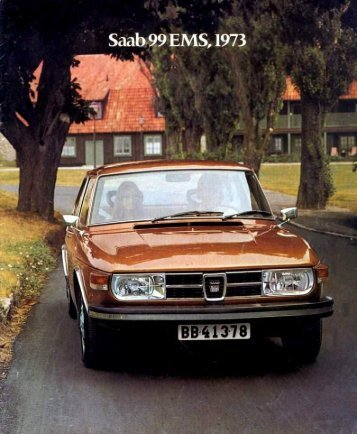 Page 1 Page 2 Page 3 The Saab 99 EMS - an exclusive model with ...