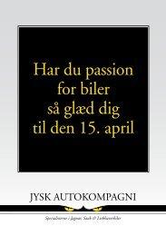 Har du passion for biler så glæd dig til den 15. april - Saab Klub ...