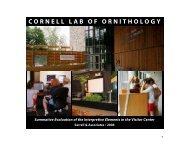 View (5.1M) - Cornell Lab of Ornithology - Cornell University