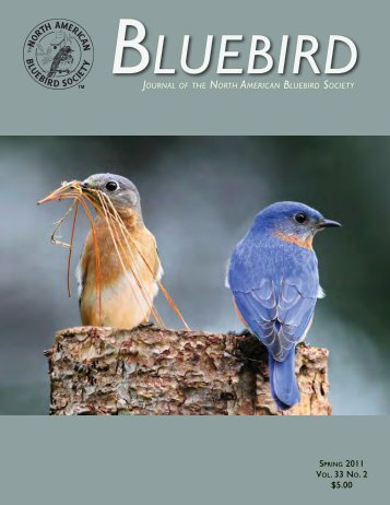 Vol. 33 no. 2 $5.00 - North American Bluebird Society
