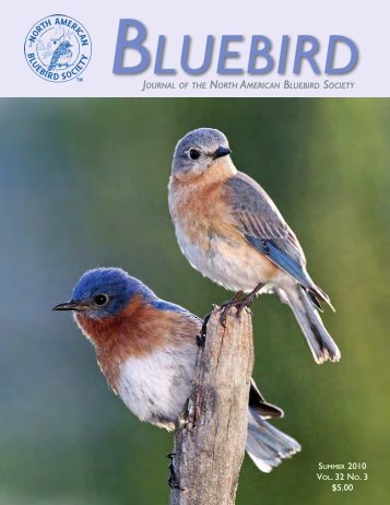 Vol. 32 No. 3 $5.00 - North American Bluebird Society