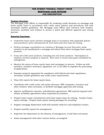 Hrd Job Ad For Support OfficerExternal    Mortgage Trust