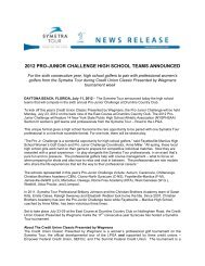 2012 pro-junior challenge high school teams announced