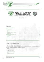 Contents From Newsletter PWG... - EUROAVIA Sevilla