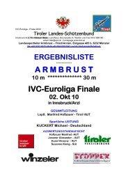 IVC-CUP Finale 2010 Innsbruck - BKAV