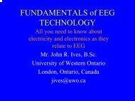 Fundamentals of EEG Technology