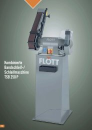 Produktblatt TSB 250 P herunterladen (.pdf, 0.14MB) - Flott