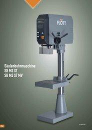 Produktblatt SB M3 ST MV herunterladen (.pdf, 0.11MB) - Flott