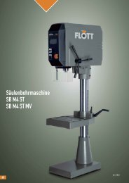 Produktblatt SB M4 ST herunterladen (.pdf, 0.11MB) - Flott