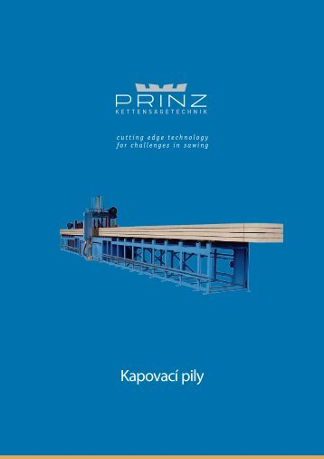 Kapovací pily - PRINZ GmbH & Co KG