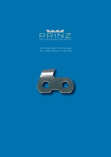 technologie PRINZ - PRINZ GmbH & Co KG